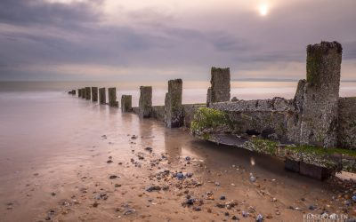 Fun with groynes at Camber