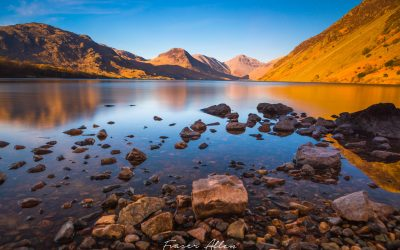 Sunset over Wast Water